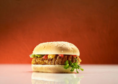 Long Chicken Burger