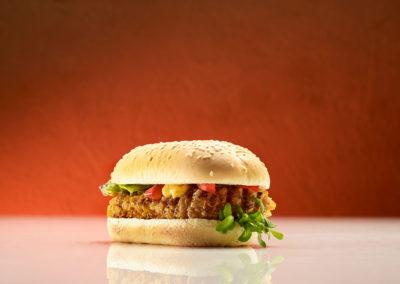 Long Chicken Burger